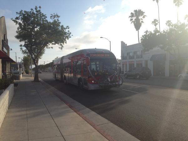 Bus LA-Santa Monica