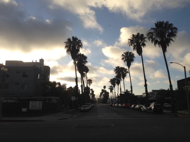 Senja di Santa Monica